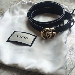 Authentic Gucci  Marmont Belt size 90